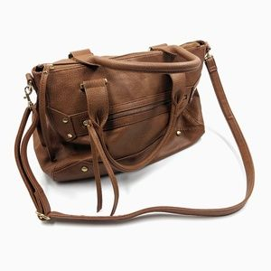 Merona Crossbody Faux Leather Tote